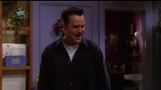 Friends / Приятели - Сезон 6 Епизод 13 - Bg Audio - | Част 2/2 |