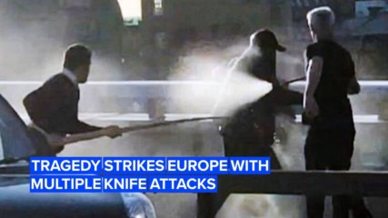 Three deadly knife attacks took place in Europe this past weekend