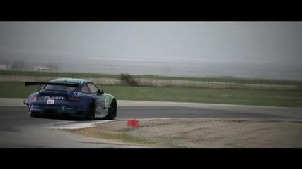 Team Falken Porsche gt2 test