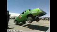 Невероятно !!! Подскачаща кола