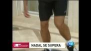 Надал ще почива 10 дни заради травмата си в бедрото
