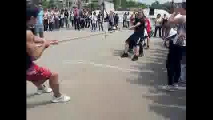 street fitness shumen Дърпане на въже