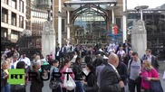UK: Biggest tube strike since 2002 causes chaos in London
