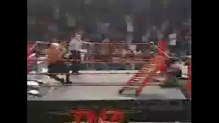 Raven vs Aj Styles - Ladder Match Part 1 2