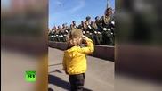 Малкия генерал на парада на Червения площад