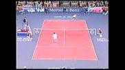 Тенис Класика : Удар с гръб към мрежата на Пит Сампрас