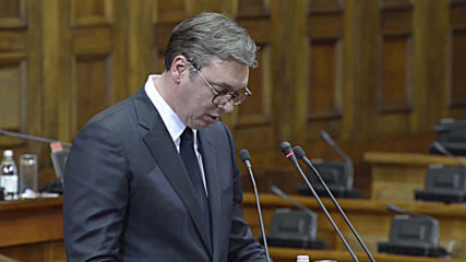 Serbia: President appeals for Kosovo compromise in assembly report