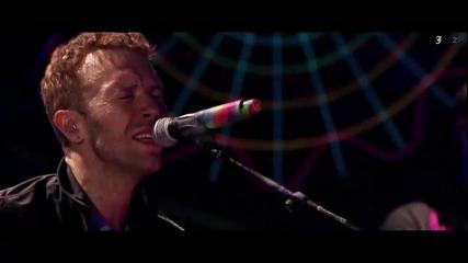 Еуфория! Live Изпълнение на Coldplay - Paradise ( From Paris) + Превод