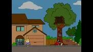 Хоумър Симпсон Срещу Марио На Играта Донки Конг-Анимация