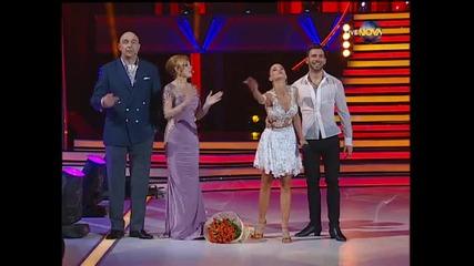 Dancing Stars - Виолета Марковска и Наско Месечков (24.04.2014)