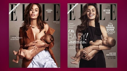 Elle Under Fire for Not Showing Breastfeeding Cover