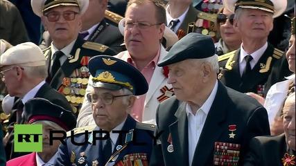 Русия: Парада за деня на Победата приближава Червения площад в Москва