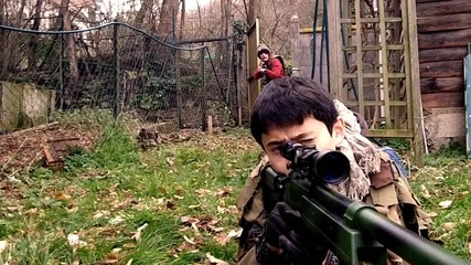 Call of duty: In Real Life | Gare Aux Noobs | (cod Irl)