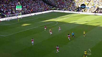 Уотфорд - Арсенал 0:2 /първо полувреме/
