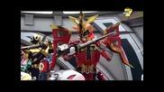 Звездни Рейнджъри Супер Самурай Е15 Бг Аудио