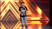 Уникалeн талант - момчето което вдигна всички на крака - X - Factor 2015