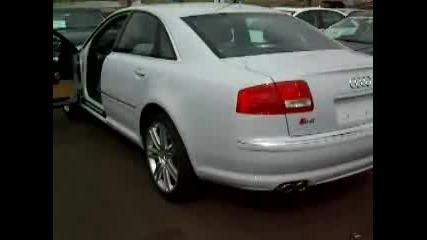 Audi S8 White, Remus