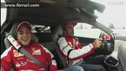 Горещи Обиколки с Алонсо и Маса - Ferrari 458 Italia