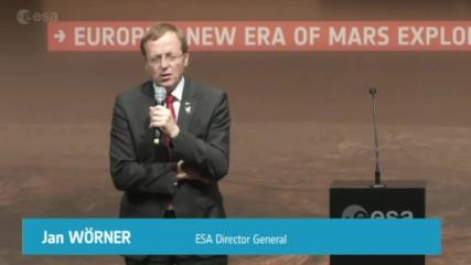 Germany: Jubilation as ExoMars' lander Schiaparelli successfully reaches Mars orbit