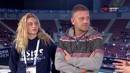 Специални гости на Sofia Open: Актьорът Юлиан Вергов и дъщеря му