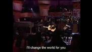 Eric Clapton & Babyface - Change The World