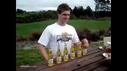 Как се пият 6 шишета водка наведнъж