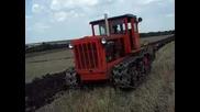 Rabota s 50g. Retro Traktor Dt54 - Rabota na nivata - 2