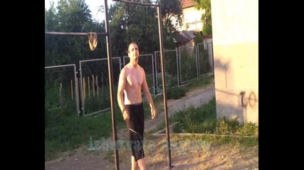 Тренировки за начинаещи... Street Fitnes
