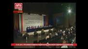 Пресконференция на лидера на Пп Атака Волен Сидеров в изборната нощ