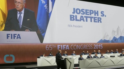 FIFA President Says Corruption Won't Lead to Him