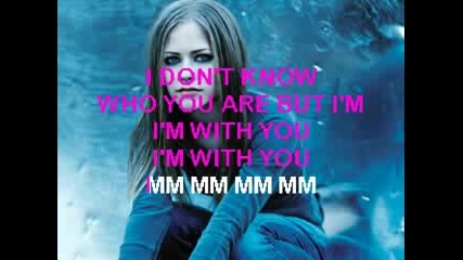 Avril Lavigne - Im with you Karaoke