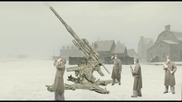 German 88mm Aa gun firing simulation