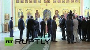 Russia: Putin visits Moscow's Diocesan House ahead of St. Vladimir commemoration