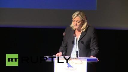 Марин Льо Пен иска действия против ислямизацията на Франция