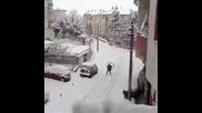 Ето как да се придвижим лесно в снега