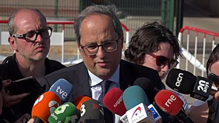Spain: Catalan president demands immediate release of referendum organisers