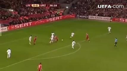 Liverpool 1:0 Unirea Urziceni [ David Ngog ]