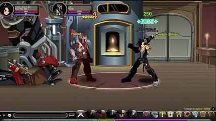 Aqw - Blood Titan .. Glitch или Не ?
