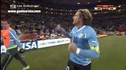 Uruguay 1 - 1 Ghana (diego Forlan)