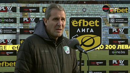 Димитър Димитров: Трябва да излезем с чест от ситуацията