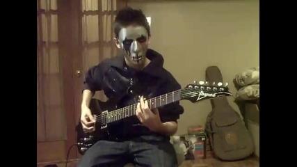 Slipknot - Left Behind (guitar cover)