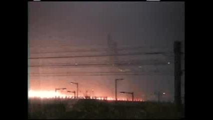 Самолет Катастрофира По Време На Тайфун