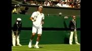 Wimbledon 2008 : Федерер - Хърбати