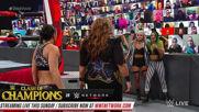 Nia Jax & Shayna Baszler vs. Natalya & Lana: Raw, Sept. 21, 2020