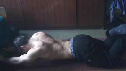 Моята тренировка за плочки вкъщи (preview)!