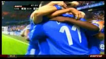 Челси - Шалке 2:0 Дидие Дрогба Гол