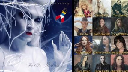 Tarja Turunen - Feliz Navidad (barbuda Relief And Recovery Charity Version) Dark Christmas Nеw Year