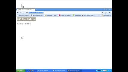 Как да влизаме във www.zamunda.net , ако сме получили Бан