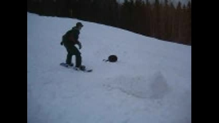 Некадърен Сноубордист