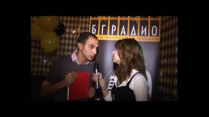 Интервю за наградите на Бг Радио с Теодор Койчинов